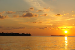 Serenity (invictus2 (away)) Tags: sunset sun ilovenature islands peace dusk serenity dhaal maldives gan atoll maldiveislands gaaf huvadhoo huvadhu