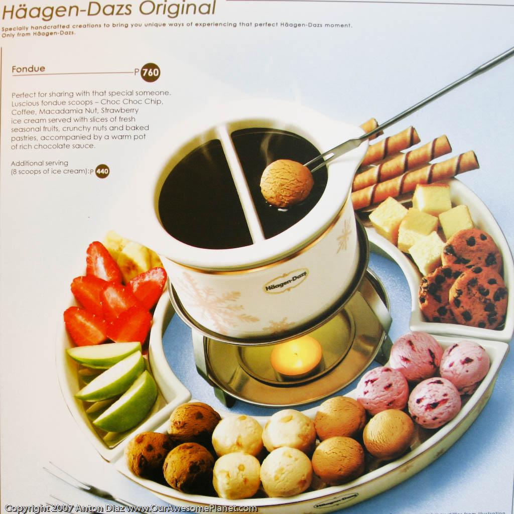 Image Gallery Haagen-dazs Fondue