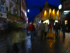 Time for Shopping (Vratsagirl) Tags: ireland galway night dark lights