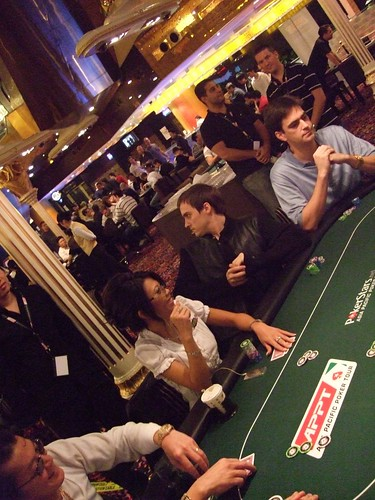 APPT Macau 2007 High Roller Event Table One