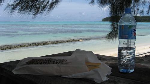Baguette in Paradise (Moorea)