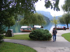 Coming to Lake Bled