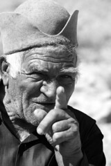 Hey YOU ! (Shapour_3) Tags: man singing you oldman nomad iranian  turks turk ghir shapour  farsprovince iraniannomad ghashghaie ghashghaieturk turkishghashghie