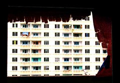 Tartered window