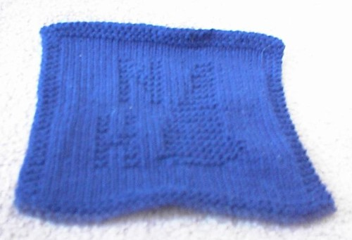 NH Dishcloth - Blue