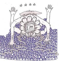 Chi-dizzy (jake klotz) Tags: chicago art work paper jake drawing album drawings cover chi dizzy klotz jakeklotz
