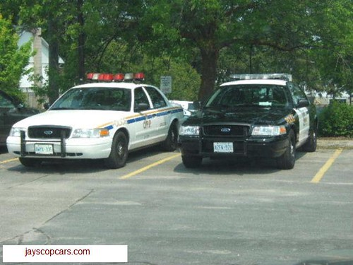 Ontario Provincial Police (OPP) cruisers