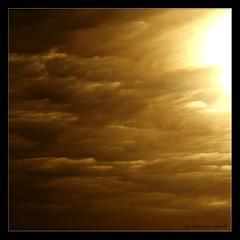Golden Sky (Kirsten M Lentoft) Tags: fab sky sun clouds golden soe themoulinrouge blueribbonwinner abigfave impressedbeauty momse2600 infinestyle goldenphotographer betterthangood kirstenmlentoft