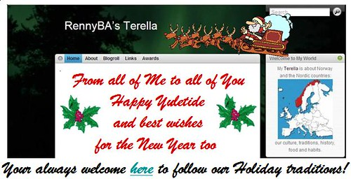 Happy Yuletide from RennyBA's Terella