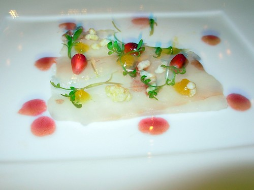 Washington Food - Carpaccio of Atlantic Fluke - Cityzen