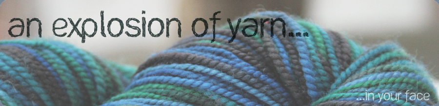 An Explosion of Yarn