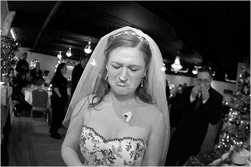 Funny Wedding Photo by weddingssc2 While yes she may be upset about the
