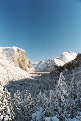 Photo of the Day: Tunnel View Winter by Daren Tatham