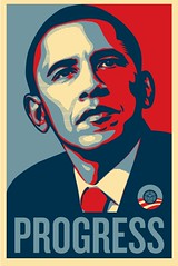 Obey (Chuckumentary) Tags: poster election progress candidate obama shepardfairey election2008 barackobama election08