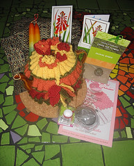 Daffodil Stitch Tea Cosy for Swap
