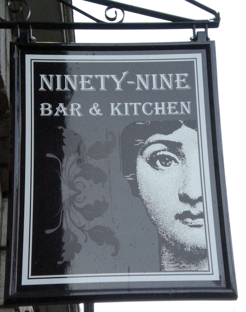 The Rather Pretentiously Titled Ninety Nine Bar Kitchen Occupies Site Of Long Dead Booths In A Prime Location Just Off Union Street And