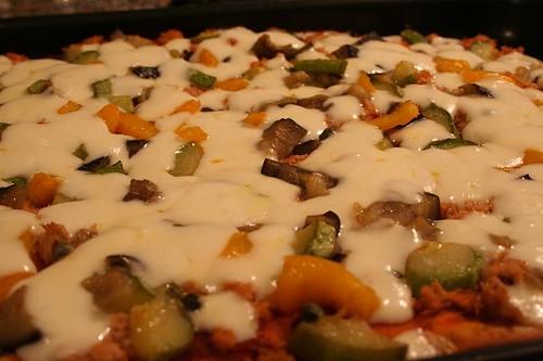 Pizza alla caponata