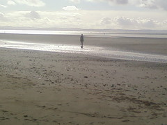 Gormley statues at Crosby (darkmaiden232002) Tags: england beach liverpool crosby merseyside sefton ironmen crosbybeach gormleystatues