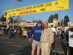 Tom and Bill Burke marathon