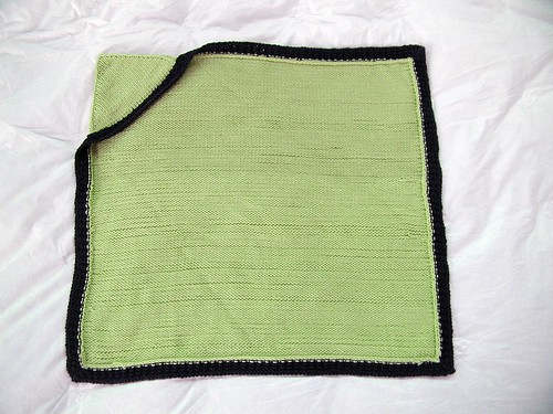 Free Pattern Hoodie Baby Blanket Originally On Magknits The