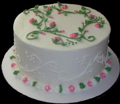 rosebuds practice cake 4-19-08