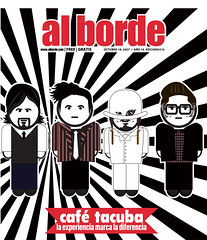 Caf Tacuba, Al Borde Magazine cover (Al Borde Latin Alternative | Spanish Rock) Tags: punk indie latinmusic portadas magazinecovers rockenespaol alterlatino rockenespanol spanishrock musicalatina latinrock rockeros latinalternative rockalternativo musicaalternativa alborde alternativebands bandasdemexico coolmagazinecovers albordecovers bandsfrommexico gruposderock revistaalborde gruposdemusicarock purorockero consiertosderock musicaentuidioma latinalternativemusic entrevistademusicarock revistademusicarock