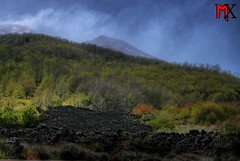 HDR - Vulcano Etna (-MandarX-) Tags: trees alberi lava sicily etna mx hdr catania sicilia magma colatalavica eos400d flickrsicilia mandarx