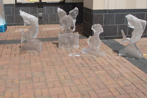 Ice Sculptures at Johnson Wales