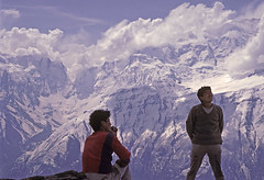 Porters at Annapurna (xtremepeaks) Tags: nepal mountains color horizontal trek landscape fun photography freedom climb image action adventure achievement motivation effort climber exploration endurance success annapurna himalayas determination teamwork sherpas interestingness472 i500 xtremepeaks aplusphoto favemegroup4 explore21may2008