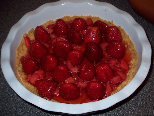 strawberry pie prep 2