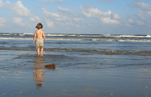 Little Boy, Big Ocean
