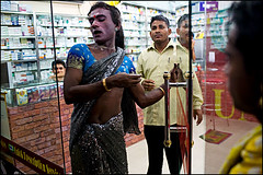 Geeta collecting money 2 - Bangladesh (Maciej Dakowicz) Tags: gay money dance asia transgender transvestite homosexual bangladesh gender transsexual hijra