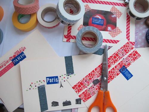 Masking tape swap