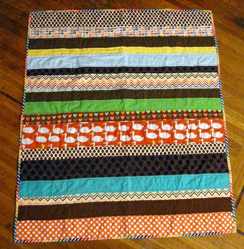 Strip Quilt for Babyspawn