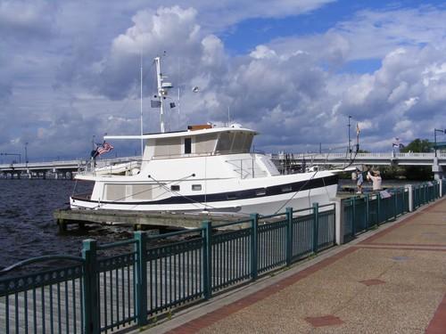 FLUKE at the New Bern town dock