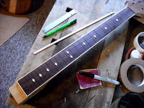 laying out the inlay