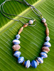 beautiful beads (Mzuri beads) Tags: bananaleaf barkcloth cowhorn paperbeads ethicalfashion ribbonnecklace recycledjewelry fairtradejewelry naturalbeads fairtradebeads ugandanbeads ecojewellery ethicalbeads mzuribeads ugandanjewelry kirstiemaclean