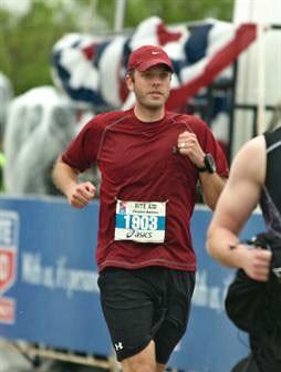 Justin running