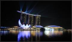 Marina Sands (III) (DeCo2912) Tags: show night singapore nacht laser singapur marinabaysands marinasands