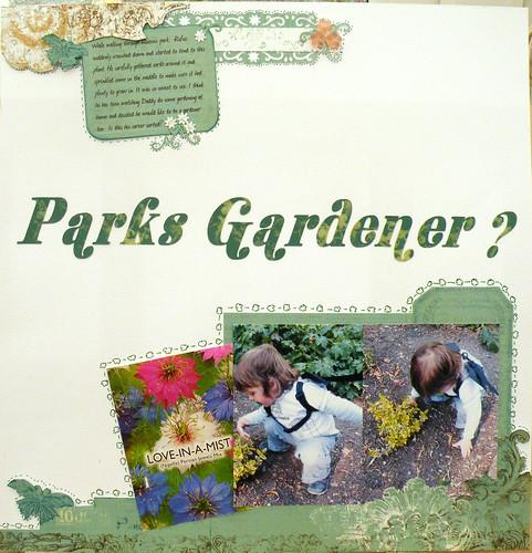 Parks Gardener