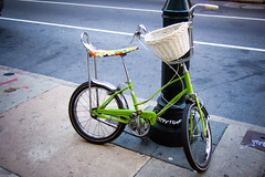 the green bike