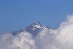 Sul cucuzzolo della montagna