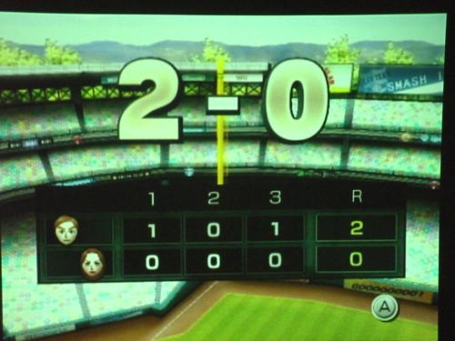 Wii baseball