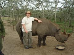 DSC00738 (Chris D Oakley) Tags: kenya blackrhino 2007 sweetwaters