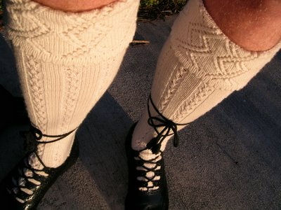 Knitting Pattern For Knee Socks - Free Knitting Patterns from