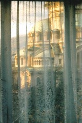 Alexander Nevski Cathedral through lace curtains (jrozwado) Tags: church window europe cathedral sofia lace curtain bulgaria orthodox