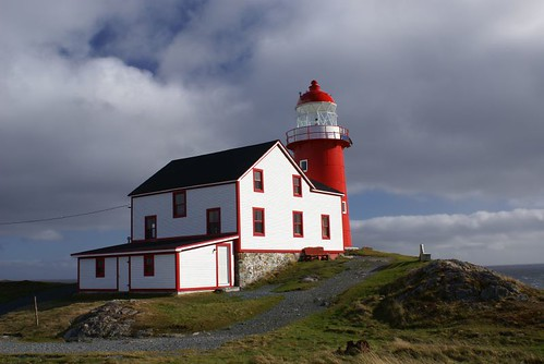 The light at Ferryland Head