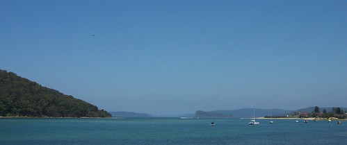 Lion Island from Ettalong Beach