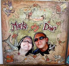 donnmarla (crazyfish_666) Tags: tattoo scrapbook paper pages johnson marah