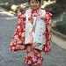 "Girl dressed for ""Seven Five Three"" ceremony, Yoyogi Park - Click thumbnail for image options"